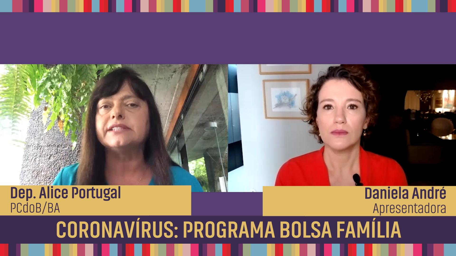Coronavírus: Programa Bolsa Família