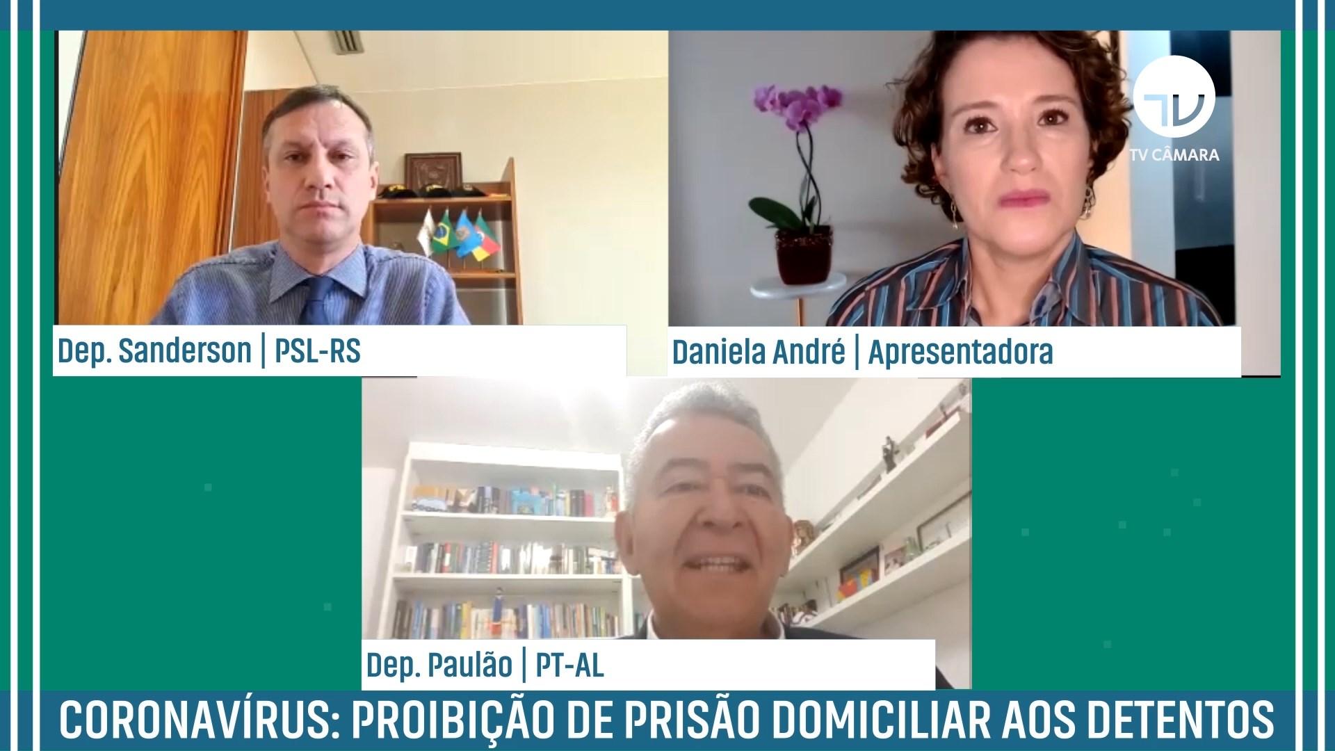 Coronavírus: proibição de prisão domiciliar aos detentos