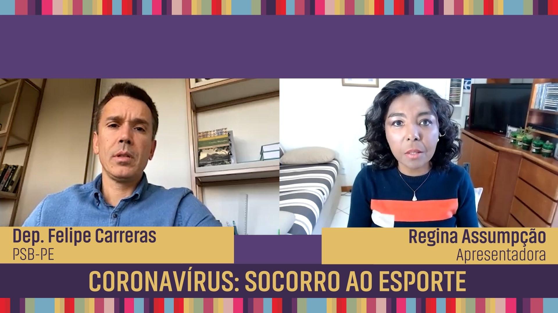 Coronavírus: socorro ao esporte