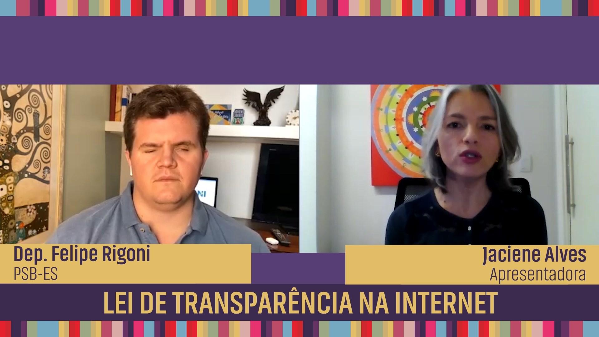 Lei de transparência na internet