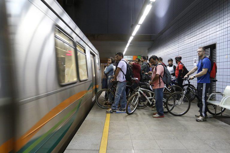 Transporte - geral mobilidade urbana metrô bicicleta integração multimodal