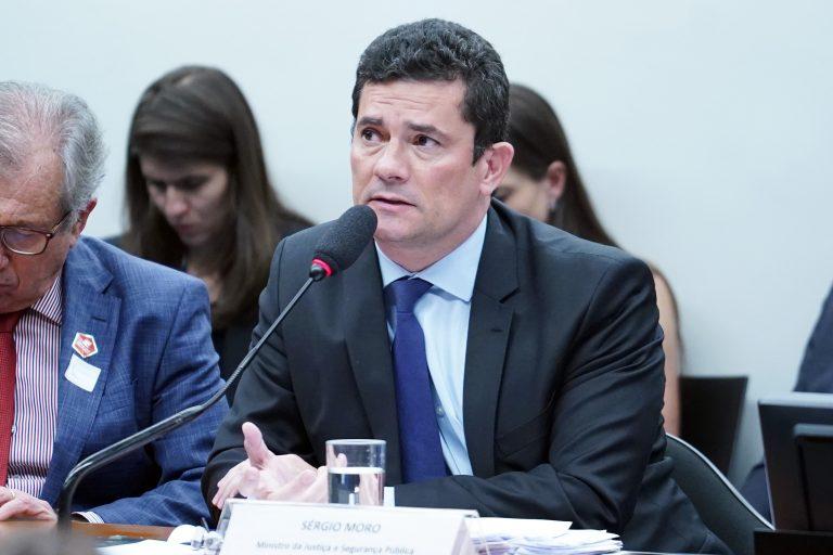 Ministro da Justiça Sérgio Moro CCJ CTASP CDHM
