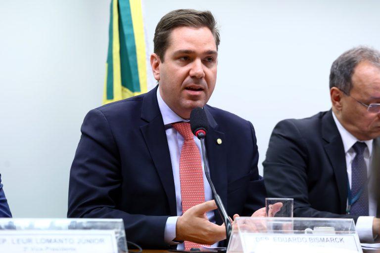 Instalação da Comissão e Eleição do Presidente e dos Vice-Presidentes. Dep. Eduardo Bismarck (PDT-CE)