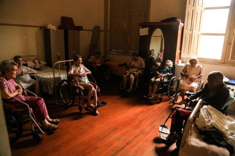 Direitos Humanos - idoso - asilo lar idosos (Asilo de Pelotas-RS)