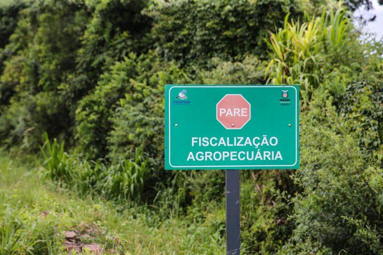 Agropecuária - geral - posto de fiscalização de trânsito agropecuário no Paraná caminhões produtos agrícolas segurança alimentar