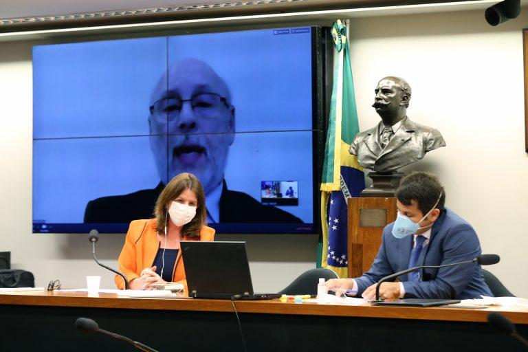 Reunião Técnica por videoconferência - Testes de diagnóstico. Presidente da Associação Brasileira de Medicina Diagnóstica - ABRAMED, Wilson Shcolnik