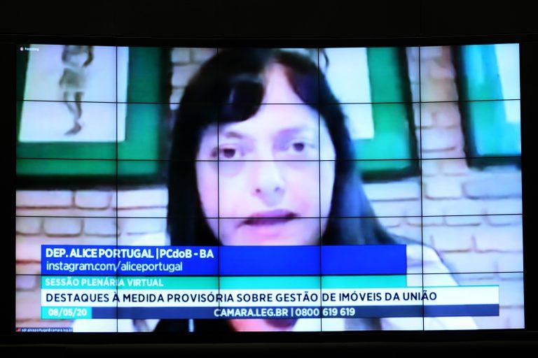 Ordem do dia para votação de propostas. Dep. Alice Portugal (PCdoB - BA)