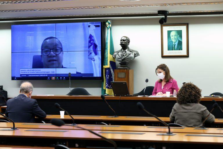 Reunião Técnica por Videoconferência - Homenagem à Semana Nacional da Enfermagem, que acontece entre os dias 12 e 20 de maio de 2020.