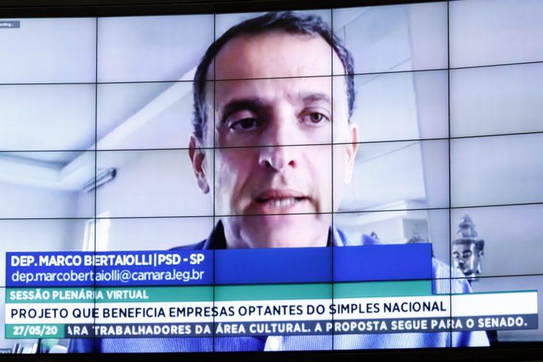 Ordem do dia para votação de propostas. Dep. Marco Bertaiolli (PSD - SP)