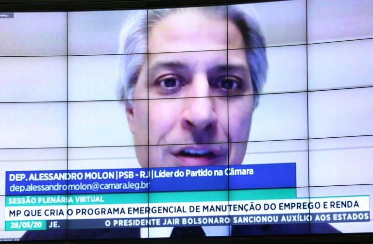 Ordem do dia para votação de propostas. Dep. Alessandro Molon (PSB - RJ)