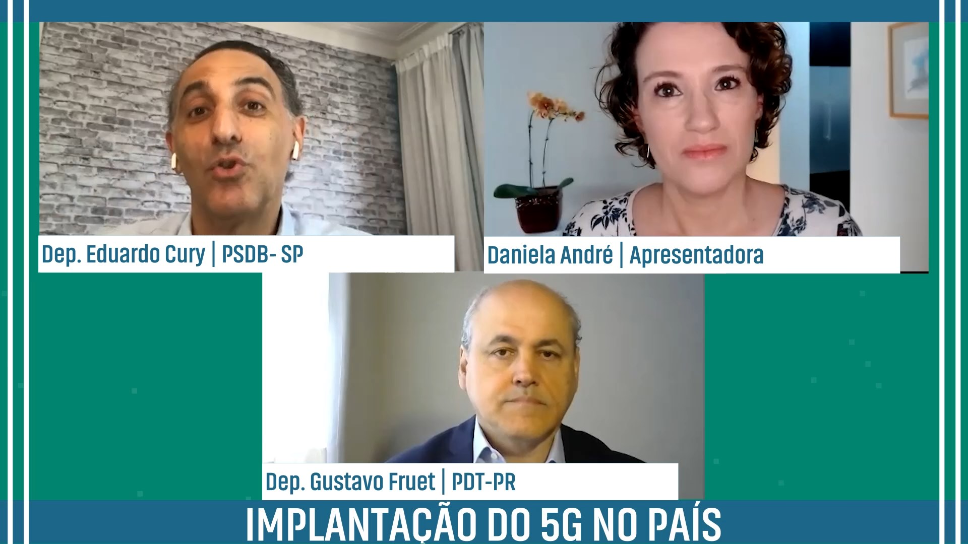 Implantação do 5G no país