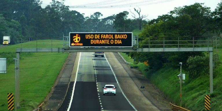 Transporte - sinalização - farol baixo estradas rodovias trânsito