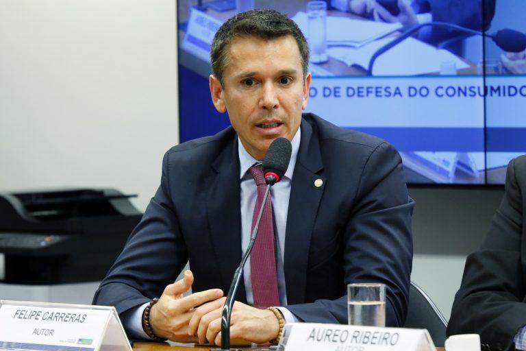 """Audiência Pública - Tema: """"Qualidade dos serviços de internet e cobranças indevidas em telefonia"""". Dep. Felipe Carreras (PSB-PE)"""