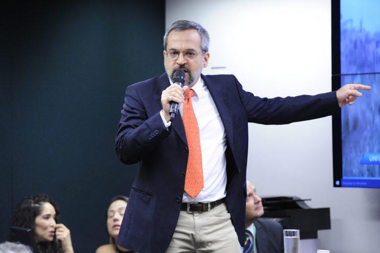 Reunião Ordinária. Ministro da Educação, Abraham Weintraub