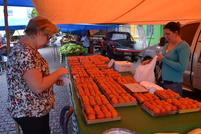 Economia - consumidor - feiras livres comércio produtores rurais frutas verduras compras hortifrutigranjeiros caquis informalidade preços inflação