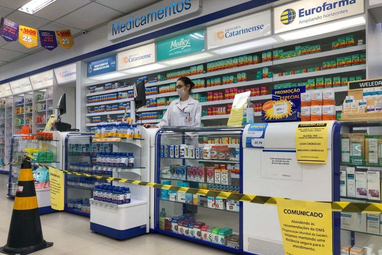 Saúde - doenças - coronavírus prevenção epidemia pandemia cuidados farmácia contaminação contágio farmácias álcool gel