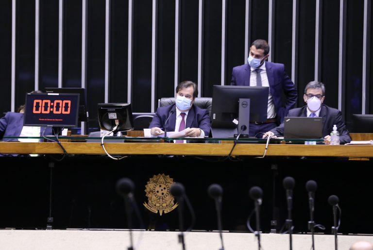 Ordem do dia para votação de propostas. Presidente da Câmara dos Deputados, dep. Rodrigo Maia (DEM-RJ)