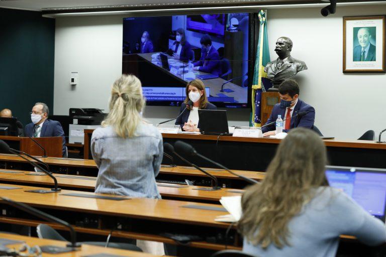 Reunião Técnica por videoconferência - A Atuação do Poder Judiciário na Pandemia da Covid-19. Dep. Carmen Zanotto (CIDADANIA - SC) e dep. Dr. Luiz Antonio Teixeira Jr. (PP - RJ)