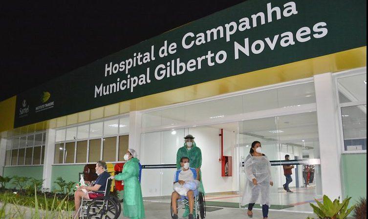 Saúde - coronavírus - Covid-19 pandemia hospitais infraestrutura pacientes internação tratamentos (hospital de campanha em Manaus-AM)