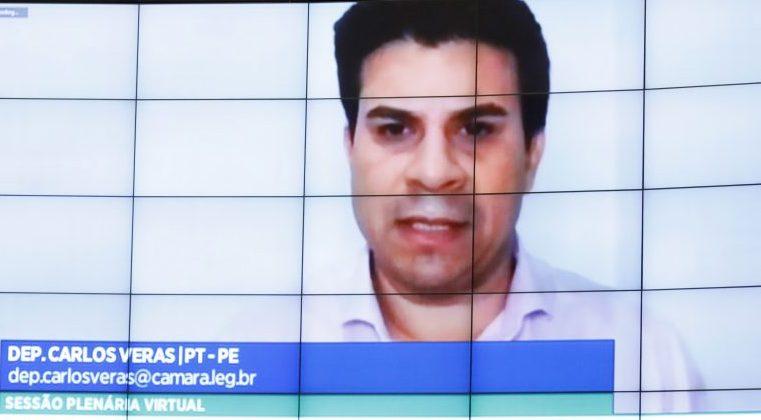 Ordem do dia para votação de propostas. Dep. Carlos Veras (PT - PE)