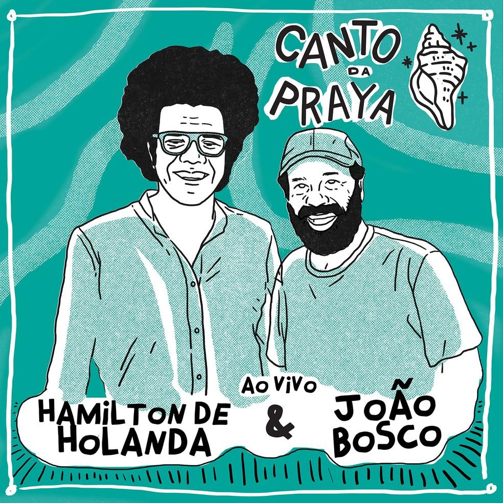 Bandolim de Hamilton de Holanda e violão de João Bosco se encontram para sambar