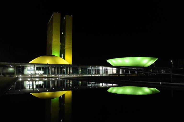 Brasília - Congresso - Congresso verde amarelo semana da Pátria independência 7 de setembro