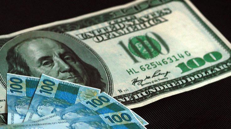 Economia - dinheiro - dólares reais câmbio conversão taxa
