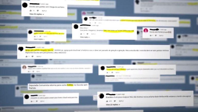 Comunicação - internet - radicalismo redes sociais política internautas opiniões polarização comentários guerra virtual
