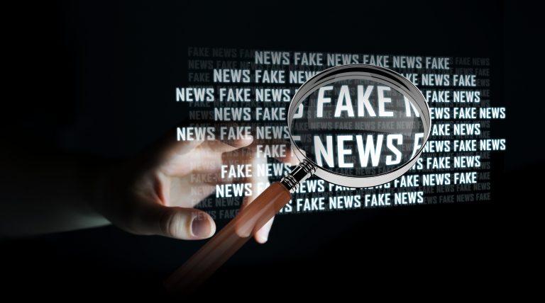 Fake news , notícia falsa, checagem