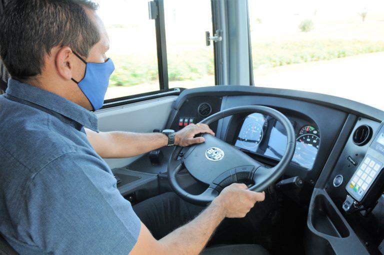 Saúde - coronavírus - motoristas ônibus rodoviários trabalhadores transporte público máscaras prevenção contágio contaminação Covid-19 pandemia