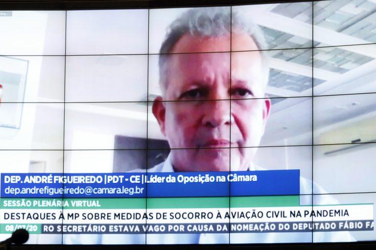 Ordem do dia. Dep. André Figueiredo (PDT - CE)