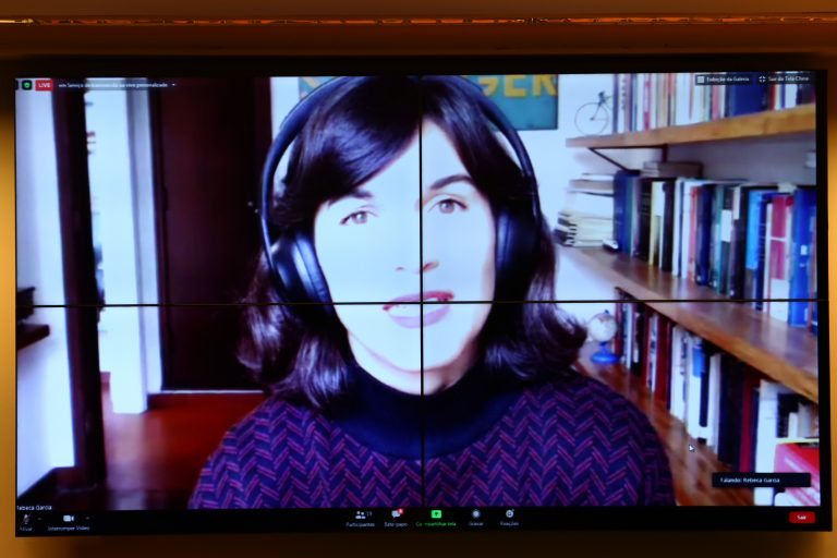 Ciclo de Debates Públicos virtuais: Lei de combate às Fake News. Gerente de Políticas Públicas do Facebook no Brasil, Rebeca Garcia