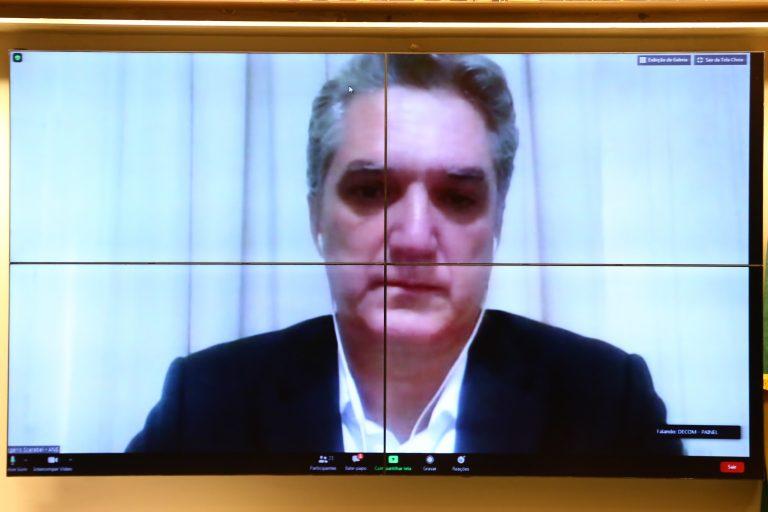 63ª Reunião Técnica por videoconferência - Exames Sorológicos e Sistema Suplementar de Saúde. Diretor-Presidente Substituto da Agência Nacional de Saúde Suplementar - ANS, Rogério Scarabel Barbosa