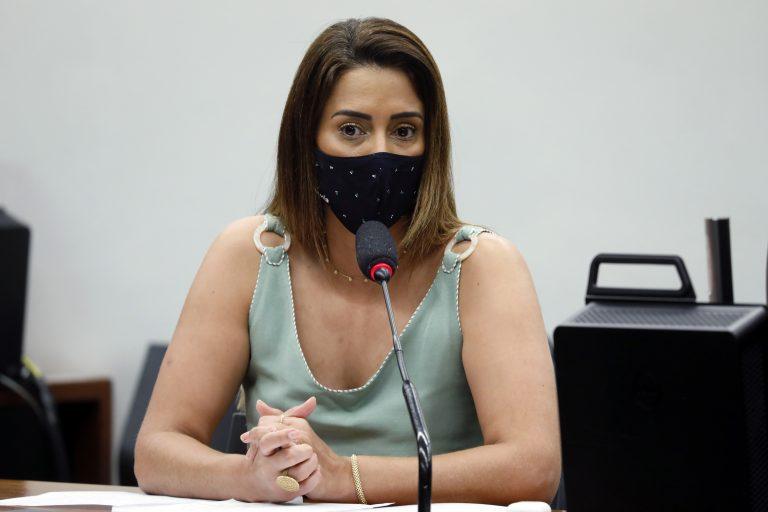 Lançamento da Frente Parlamentar em Defesa da Renda Básica. Dep. Flávia Arruda(PL - DF)