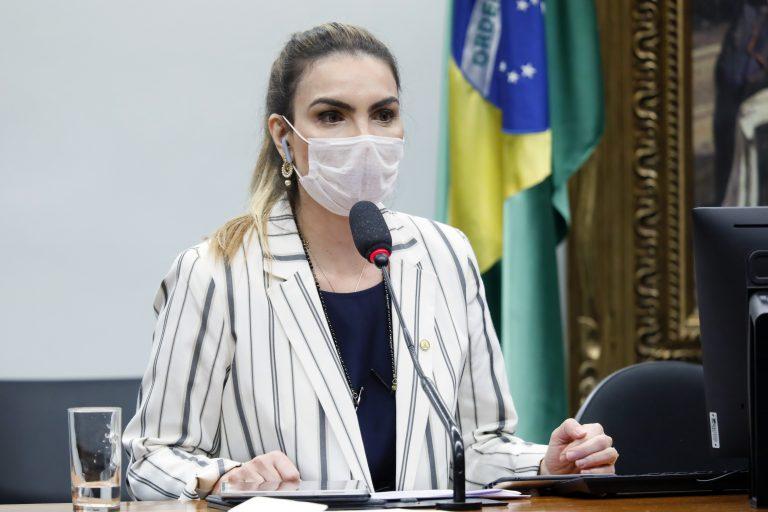 Lançamento da Frente Parlamentar em Defesa da Renda Básica. Dep. Paula Belmonte(CIDADANIA - DF)