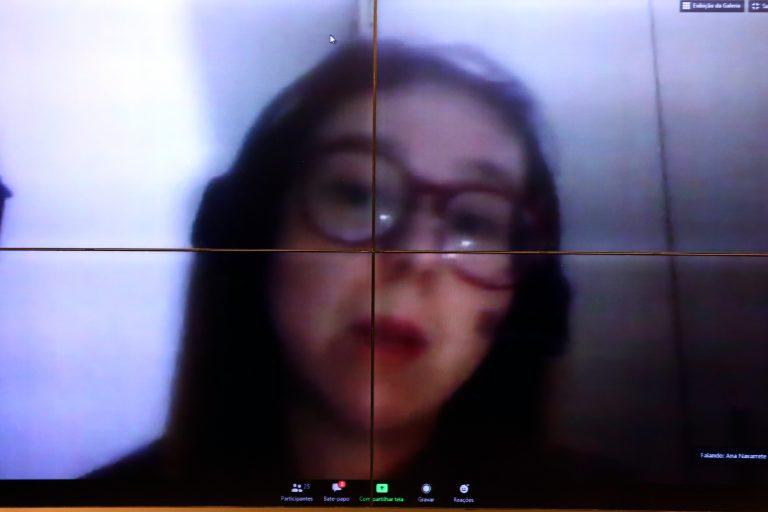 63ª Reunião Técnica por videoconferência - Exames Sorológicos e Sistema Suplementar de Saúde. Coordenadora do Programa de Saúde do Instituto Brasileiro de Defesa do Consumidor - IDEC, Ana Carolina Navarrete