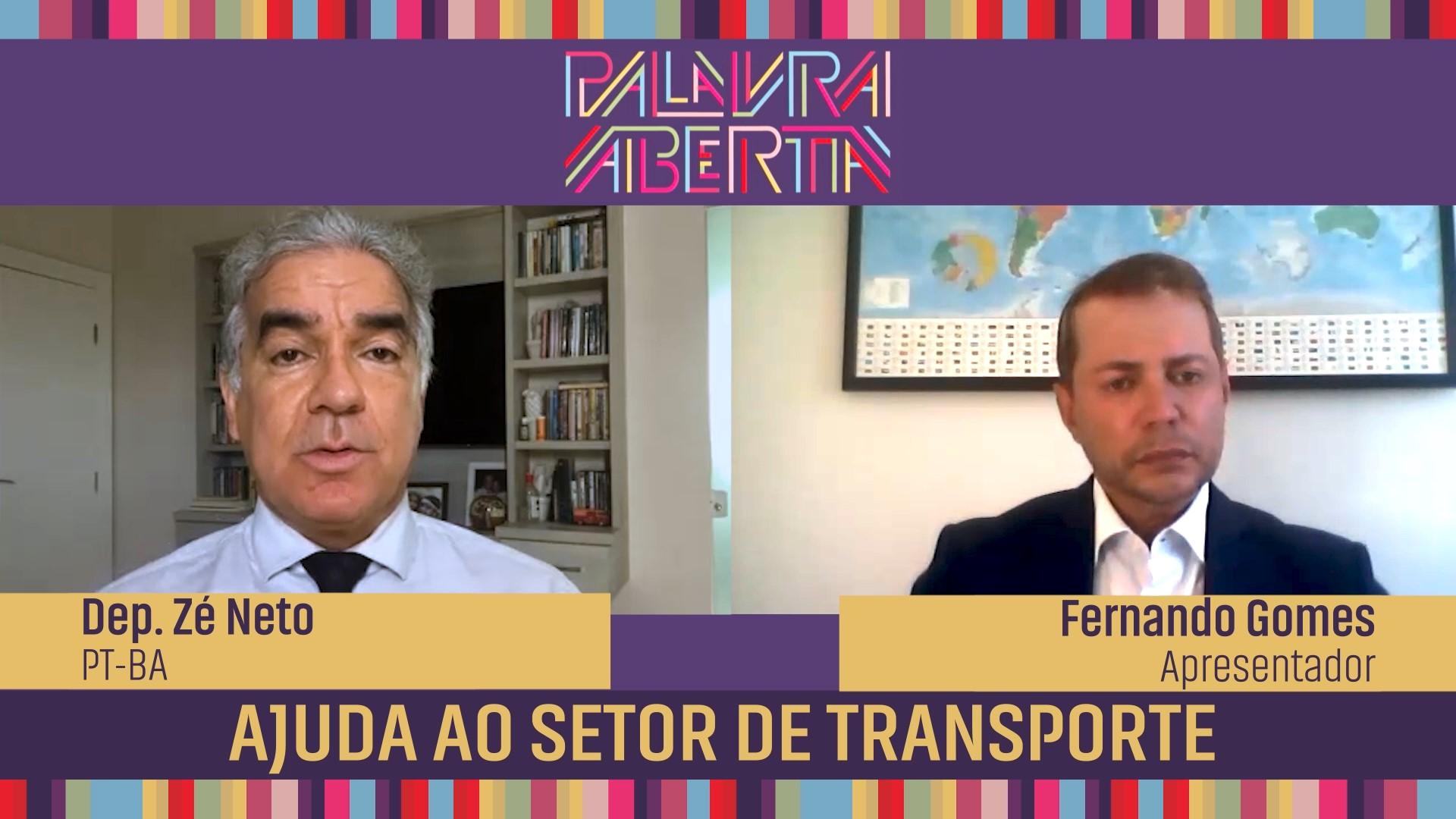 Ajuda ao setor de transporte