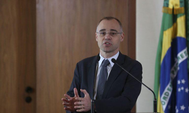 Autoridades - ministro da Justiça André Mendonça