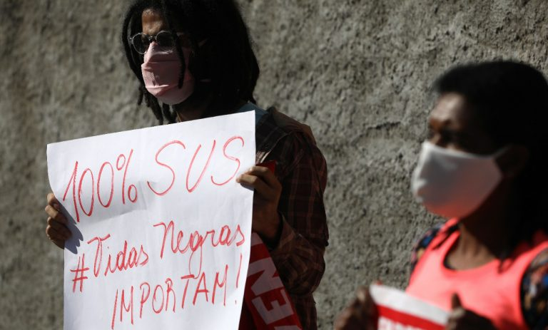 Saúde - coronavírus - protestos manifestações Covid-19 pandemia SUS Sistema Único de Saúde negros racismo