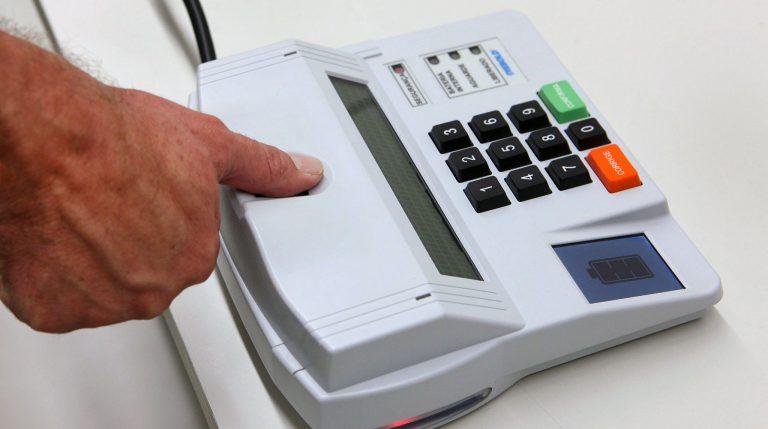 Política - eleições - urnas eletrônicas biometria identificação biométrica