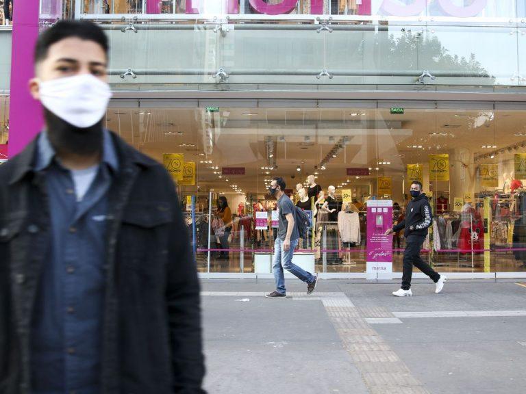 Saúde - coronavírus - shoppings consumidores lojas comércio economia crise retomada PIB crescimento varejo compras máscaras cuidados prevenção Covid-19 pandemia (São Paulo-SP)
