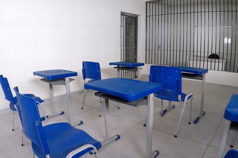 Segurança - presídios - sistema penitenciário penitenciárias prisões sala de aula educação (Cadeia Pública de Redenção-PA)