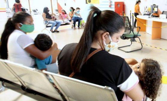 Saúde - hospitais - atendimento pacientes coronavírus Covid-19 pandemia crianças pediatria máscaras SUS Sistema Único de Saúde (Centro Integrado de Inclusão e Reabilitação, (CIIR), Belém-PA)