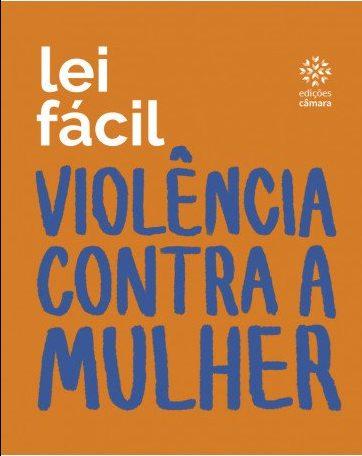 """Capa do livro """"Violência contra Mulher"""". Edições Câmara"""