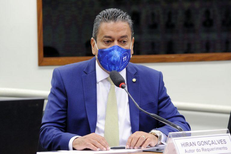 72ª Reunião Técnica por videoconferência - A Pesquisa Clínica no Brasil no Contexto da pandemia do coronavírus. Dep. Hiran Gonçalves (PP - RR)