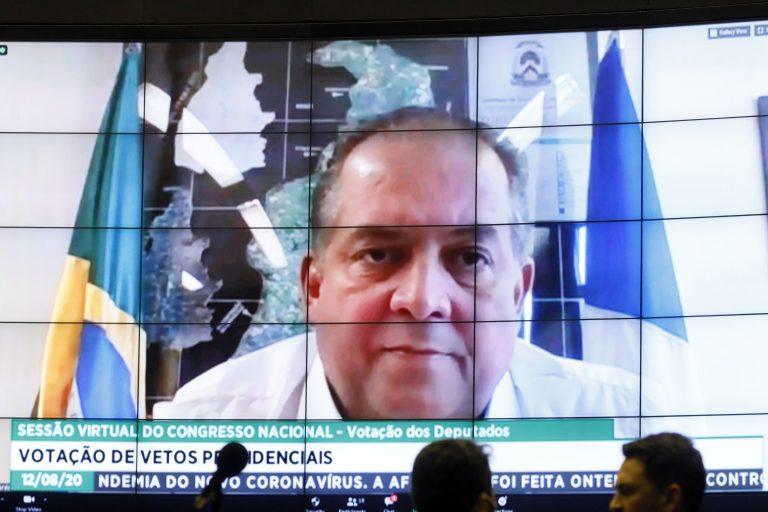 Destinada à deliberação de vetos projetos de lei do Congresso Nacional. Sen. Eduardo Gomes