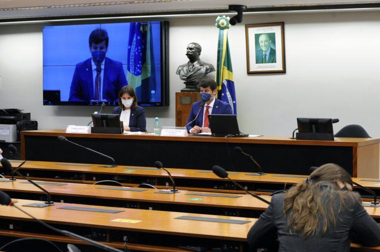 73ª Reunião Técnica por Videoconferência - A situação dos medicamentos para intubação. Dep. Carmen Zanotto (CIDADANIA - SC), dep. Dr. Luiz Antonio Teixeira Jr. (PP - RJ)