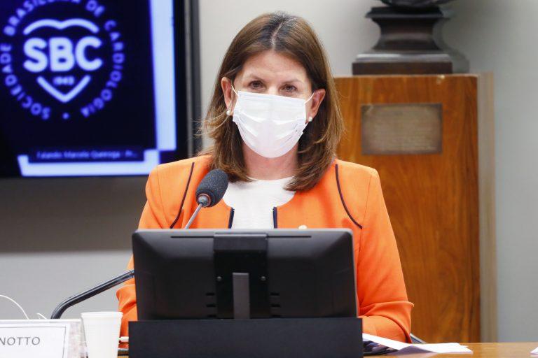 77ª Reunião Técnica por videoconferência - A situação dos pacientes cardiopatas na pandemia da Covid-19. Dep. Carmen Zanotto (CIDADANIA - SC)