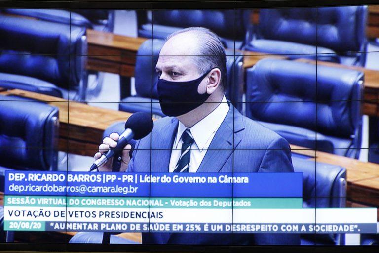 Destinada à deliberação de vetos projetos de lei do Congresso Nacional. Dep. Ricardo Barros(PP - PR)