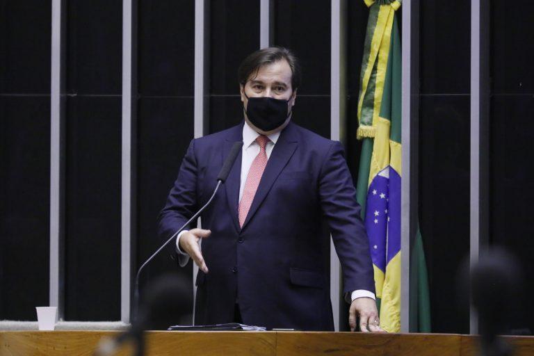 Destinada à deliberação de vetos projetos de lei do Congresso Nacional. Presidente da Câmara dos Deputados, dep. Rodrigo Maia (DEM - RJ)